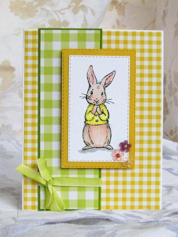 открытки с пасхальным кроликом своими руками думаю, описании