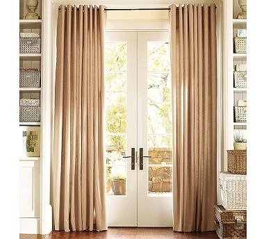 Window Covering Style For French Doors
