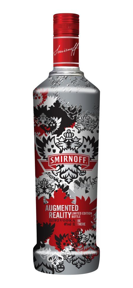 An exciting augmented reality limited edition bottle from the makers of Smirnoff vodka is giving consumers the opportunity to take part in a unique virtual experience.  This limited edition is more than just a cool bottle—when activated you see your bottle of Smirnoff on your computer screen or smartphone and an amazing animated party scene comes to life out of the bottle.