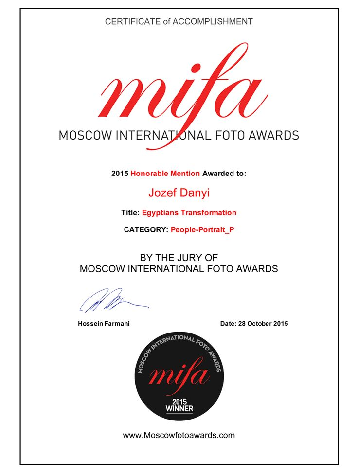 MIFA Photo Awards 2015