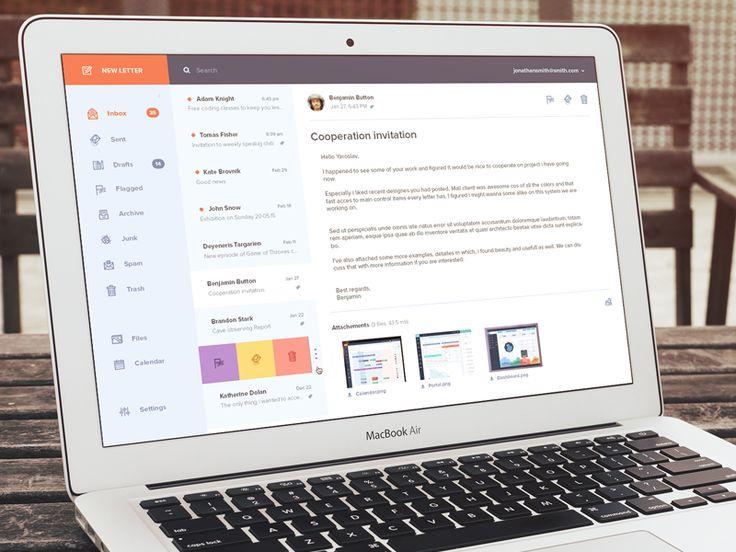 Email Application Design Inspiration — Muzli -Design Inspiration — Medium