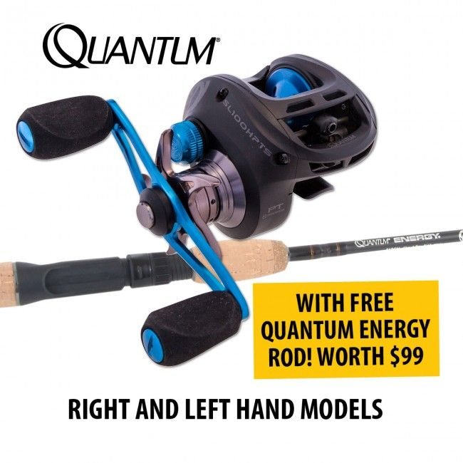 Find Quantum Smoke Inshore Baitcast #Reels With FREE Rod offered on January Sale in Australia provided by Dinga Fishing Tackle Shop!