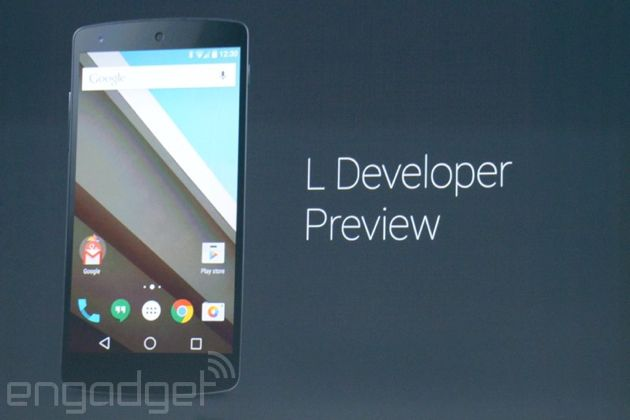 Google's next version of Android 'L' release has a new look, deeper ties to the web