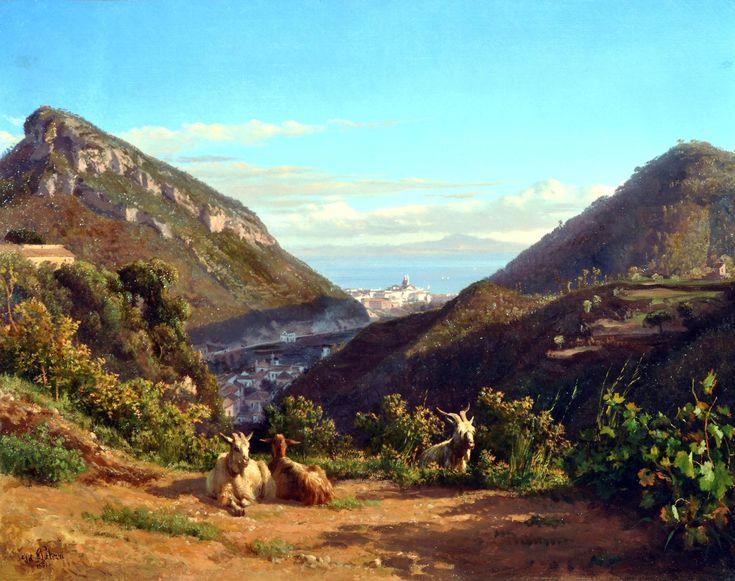 The Athenaeum - Chiunzi Valley (Filippo Palizzi - )