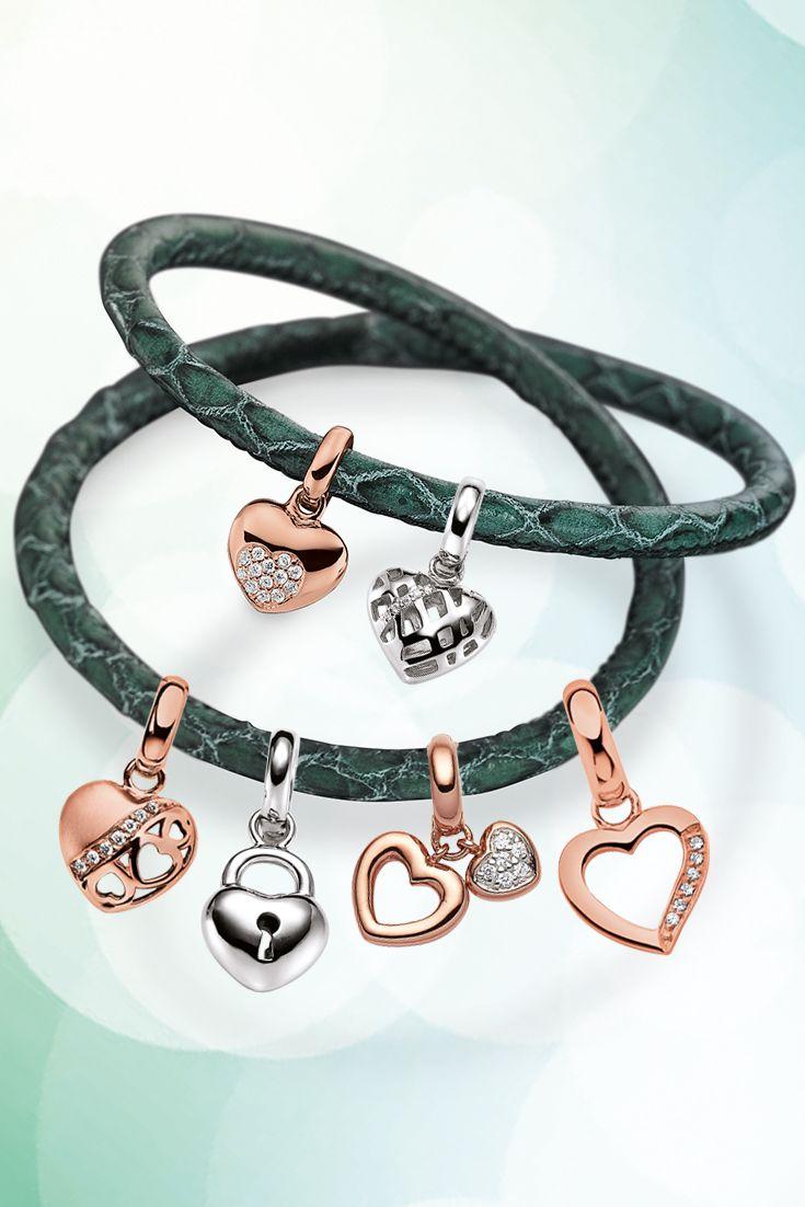 Das Herz als Symbol für die wahre Liebe. Entdecken Sie jetzt unsere große Auswahl an Charms!