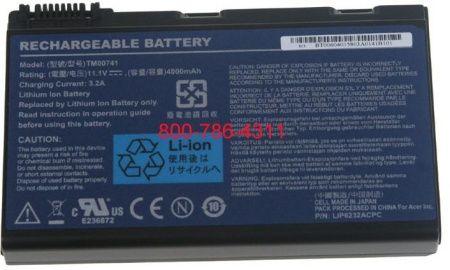 Acer Extensa 5220-201G12Mi 5220-301G12 -5230 5230E 5235-302G25Mn batteri