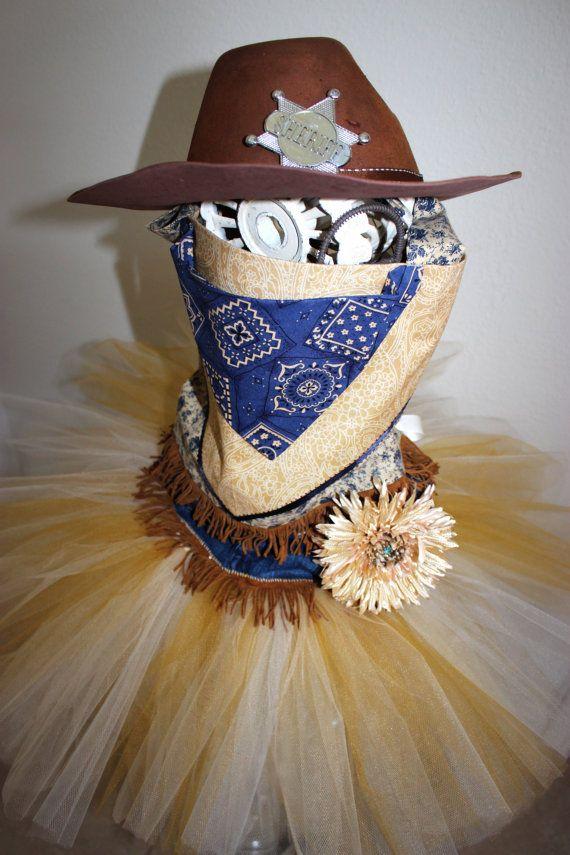 Cowgirl Tutu Costume Sheriff Tutu by SugarDivasDesigns on Etsy, $65.00 Denim Tutu Costume