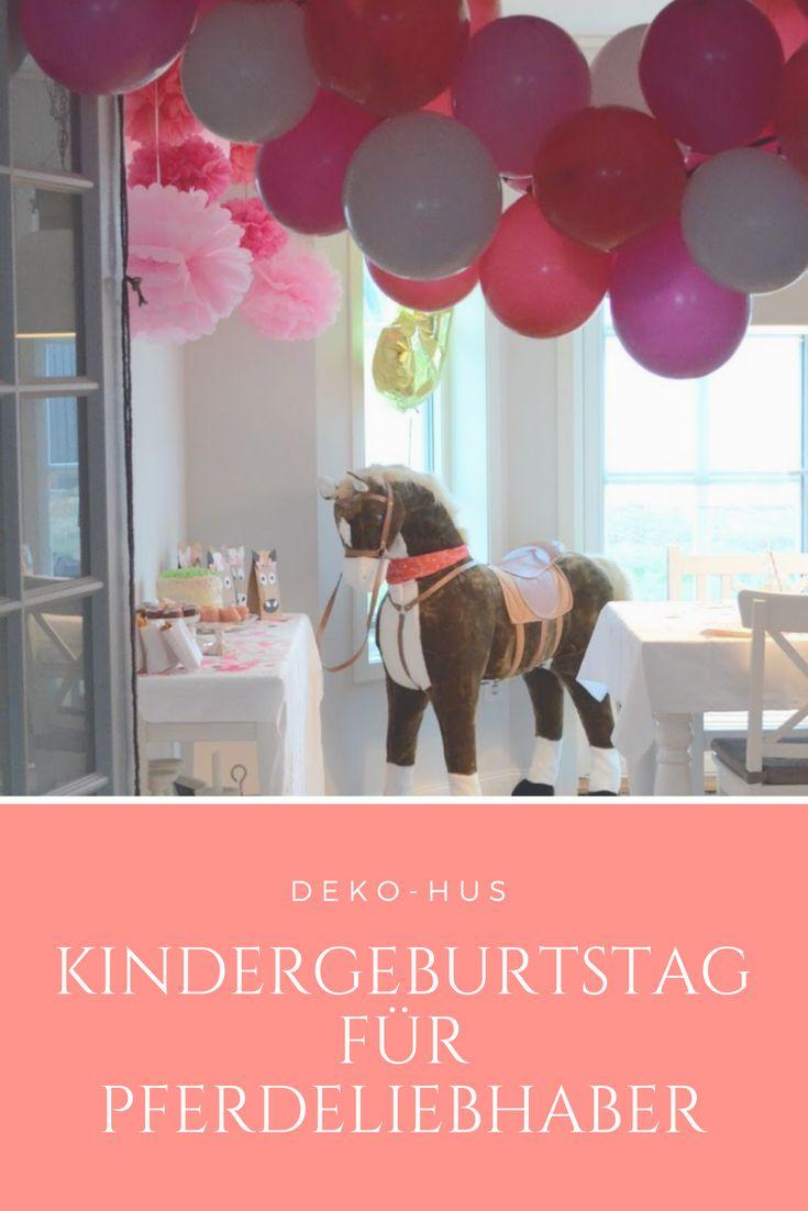 Kinder Geburtstag Pferd Motto party