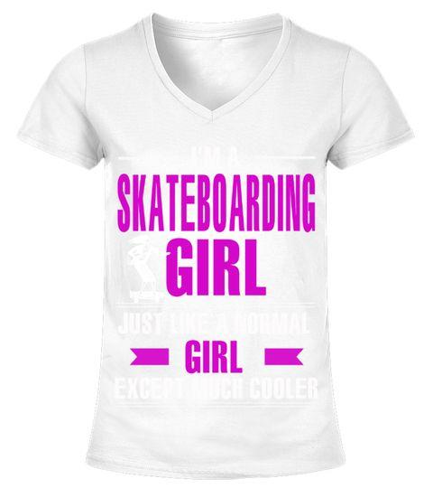 Skateboarding Girl is Cooler