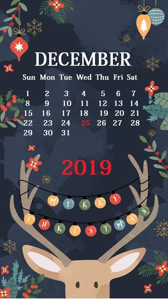 2019 December Calendar Background Cute iPhone December 2019 Calendar Background   250+ 2019