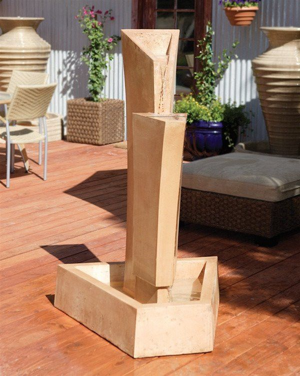 Free Shipping and No Sales Tax on the Tower Outdoor Water Fountain from the Outdoor Fountain Pros.