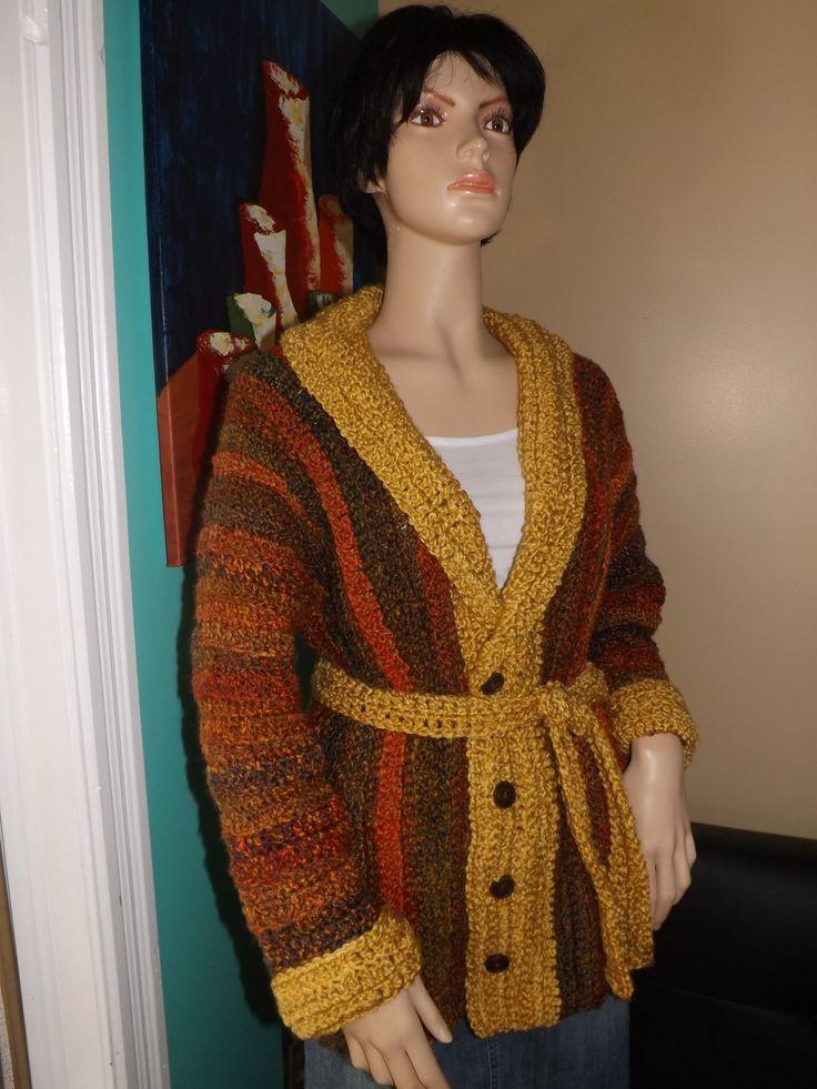 Crochet Fall Sweater or cardigan