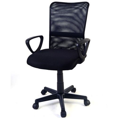 Office Chair Ergonomic Mid-back Adjustable Mesh Swivel Computer Desk NEW #1