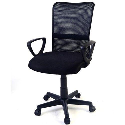 Office Chair Ergonomic Mid-back Adjustable Mesh Swivel Computer Desk NEW #1