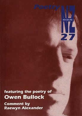 Poetry NZ Issue 27