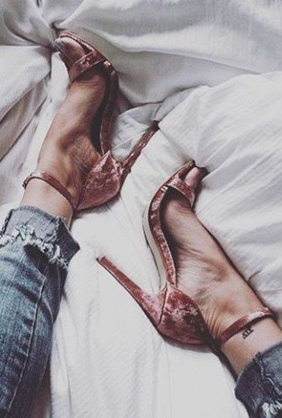 The dance floor has finally met its match with the Steven by Steve Madden Viienna Blush Velvet Ankle Strap Heels! These single sole, ankle strap heels have a slender toe strap, sturdy heel cup, and adjustable gold buckle.