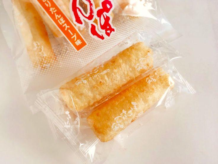 お菓子になったきりたんぽ(きりたんぽスープ味)