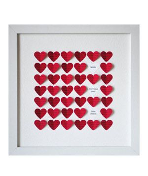 3-D Heart Art #gifts