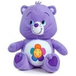 Peluche bisounours violet 28 cm - Barrado
