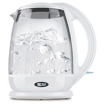 Briscoes - Zip Clear Boil Kettle White