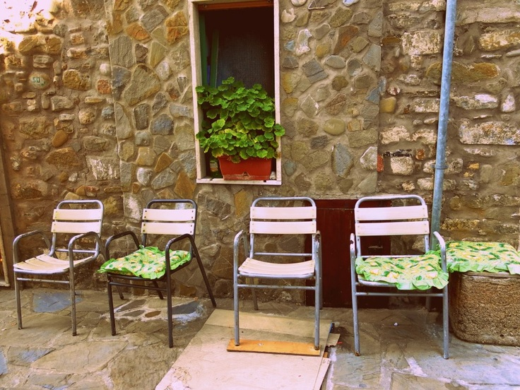 #Acciaroli, le nonne erano dentro a cucinare. The grannies were inside cooking!