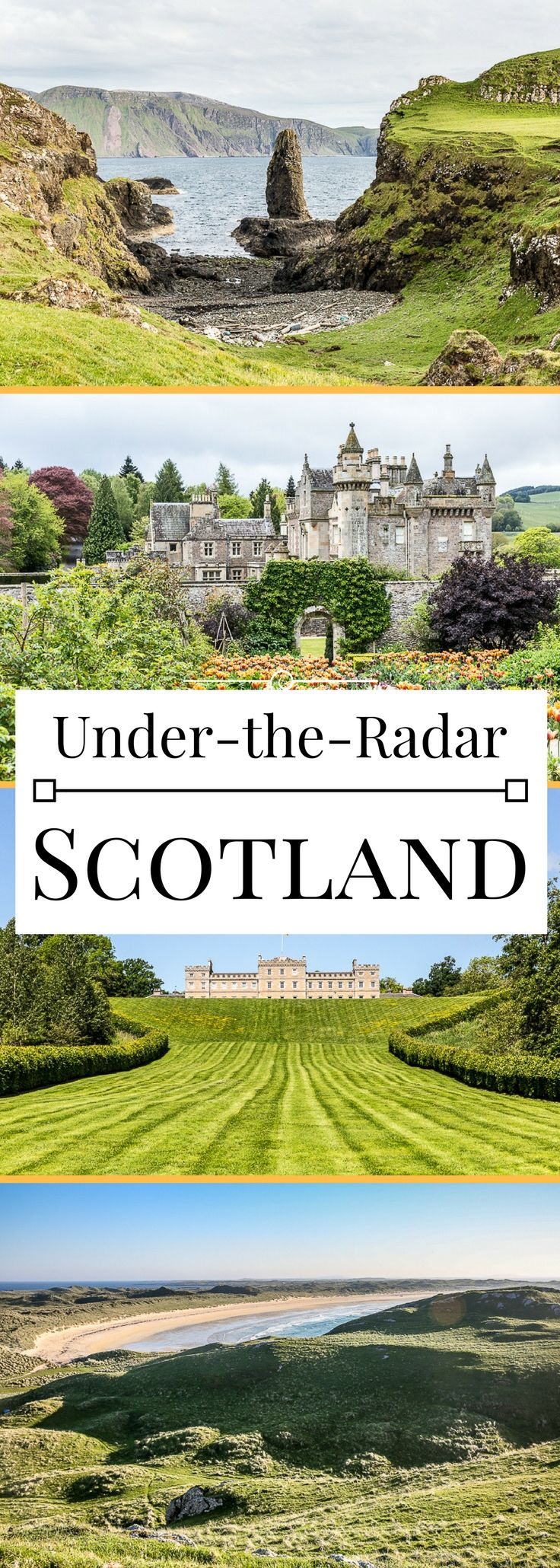 5 under-the-radar places to travel in Scotland, from the castles to the islands.