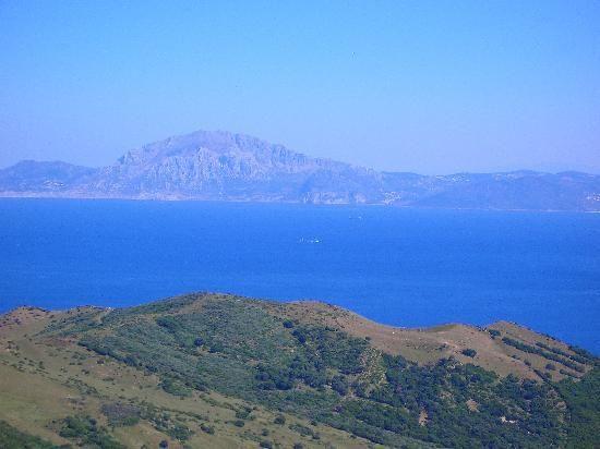 Vista de las montañas de #Africa desde #Tarifa , #España
