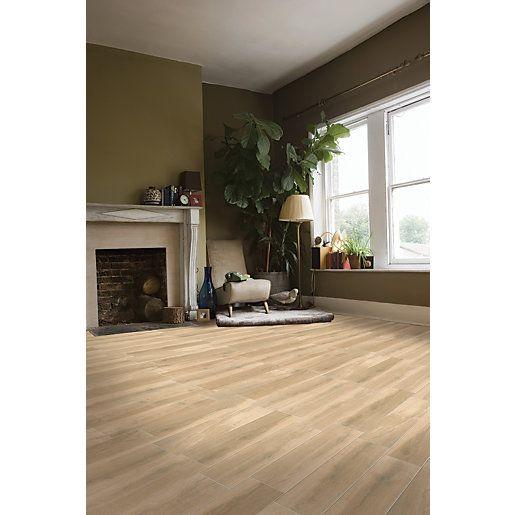 Amazing Alpes Gris  Grey Wood Effect Floor Tile