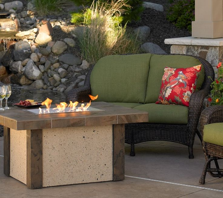 Balsam Love seat and Fire pit - Buy it in the store. Artistic Visions Lighting & 31 best Artistic Visions Lighting and Outdoor Living Firepits ... azcodes.com