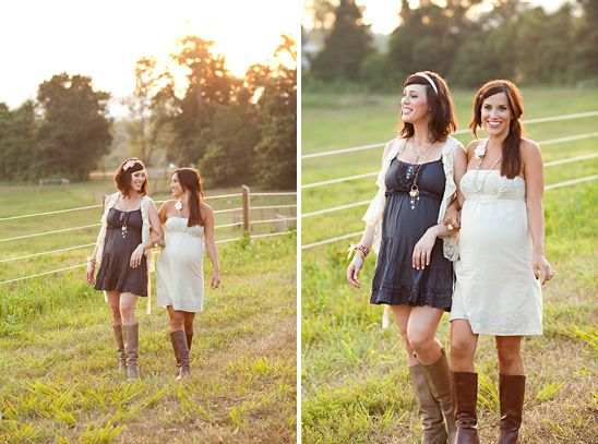 Friends Maternity Session