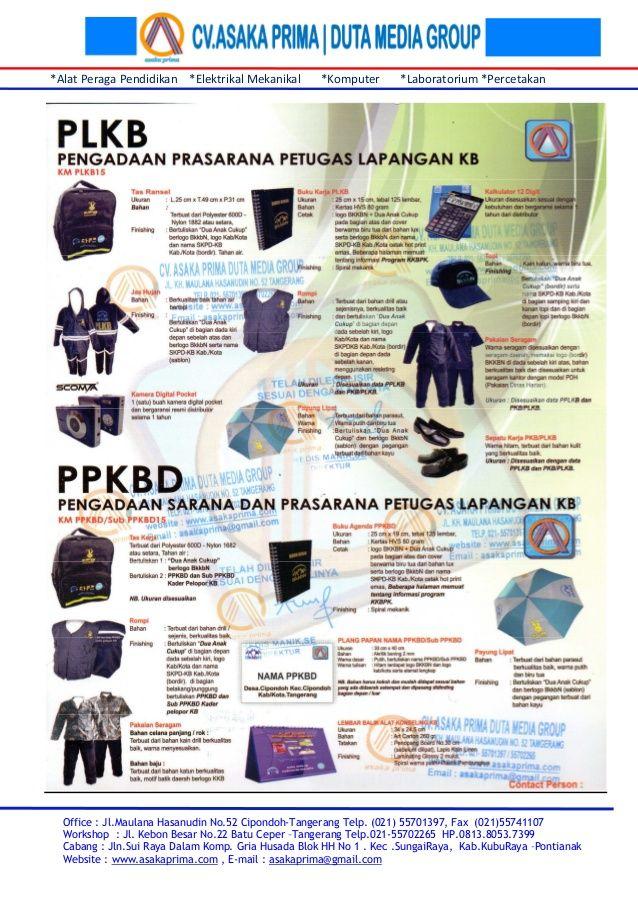 Sarana plkb kit & brosur sarana ppkbd 2015