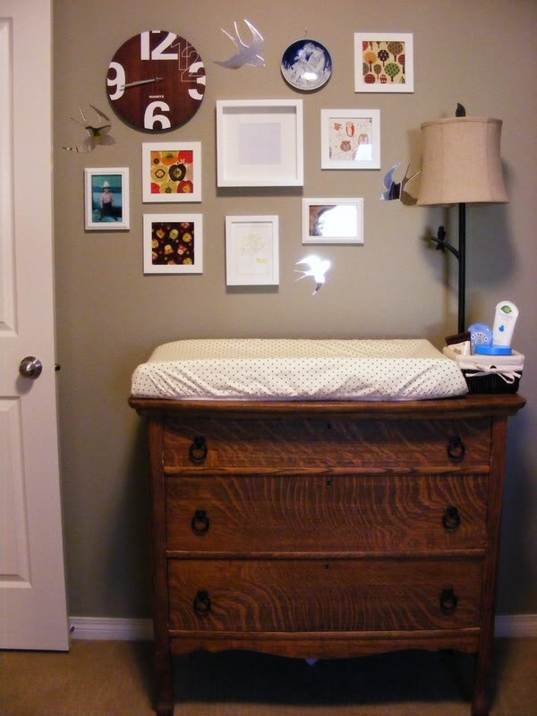 Vintage Dresser Change Table Hunter S Nursery Woodland Theme Ideas Pinterest Tables And Babies