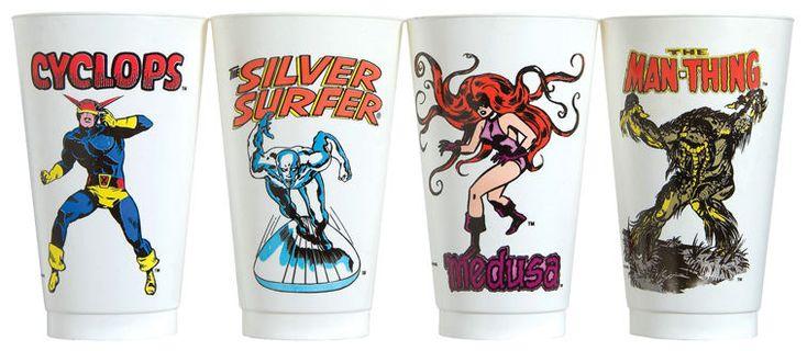 1975 Marvel Slurpee Cups Part 1