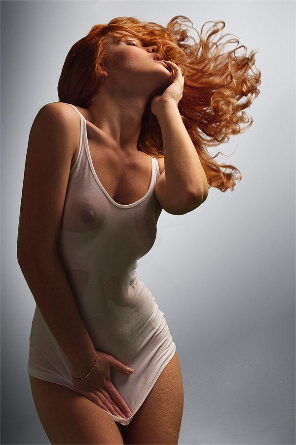 Wet Redhead 24