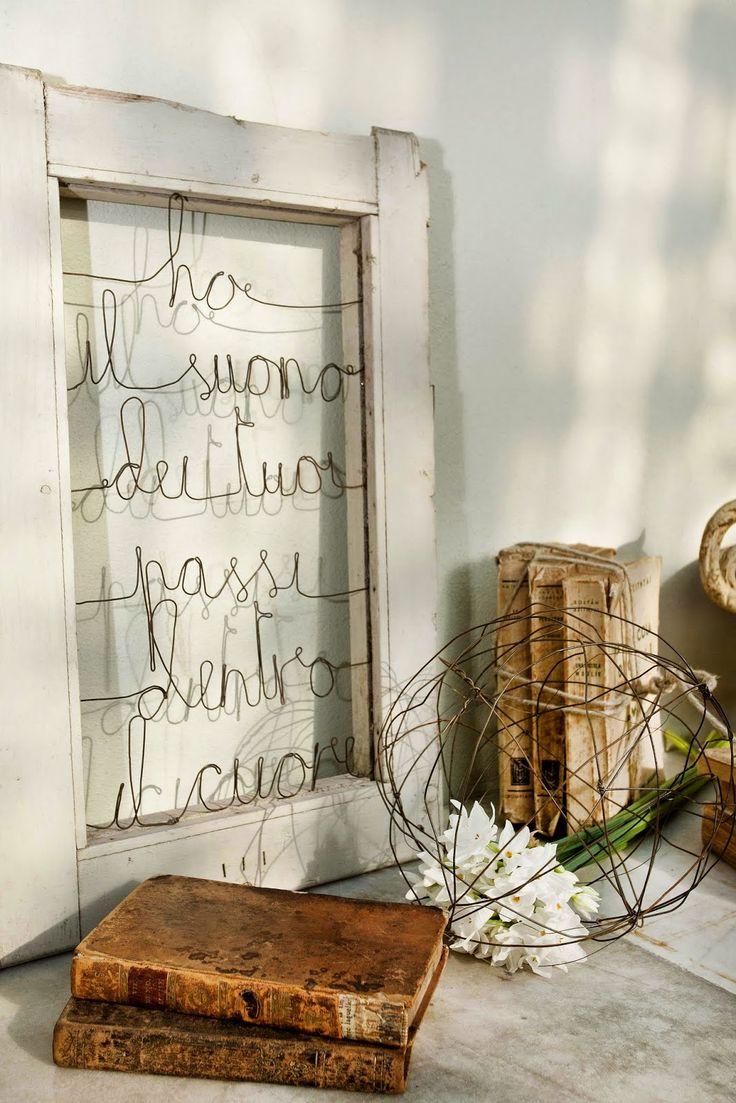 le bianche margherite: Abitare Country: Là dove si incontrano le arti