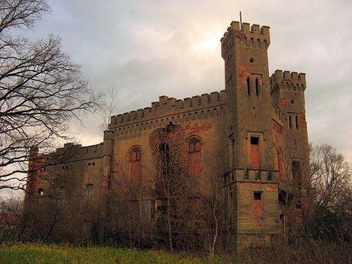 Abandoned Palace, Boguszyce, Poland