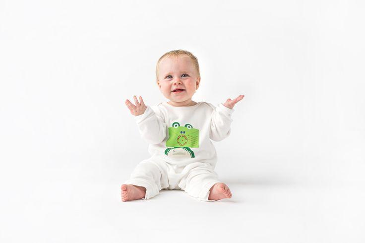 Frog! #buysocial #organic #babyclothes