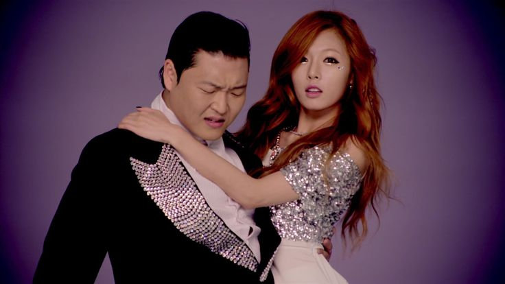 PSY (ft. HYUNA) - 오빤 딱 내 스타일 M/V, she sings in this one!