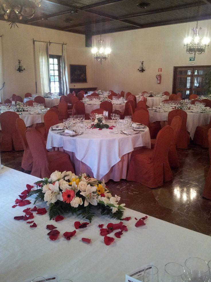 #parador de #tordesillas #bodas con #encanto #rusticChic #salon