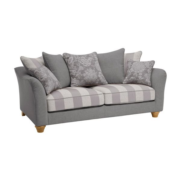 Steel Fabric Sofas 3 Seater Sofa Regency Range Oak Furnitureland Fabric Sofa Small Sofa Oak Furniture Land