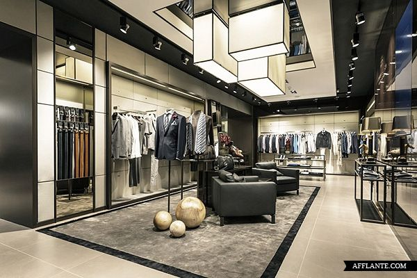BOSS Store Paris Avenue des Champs-Elysee // Hollin+Radoske