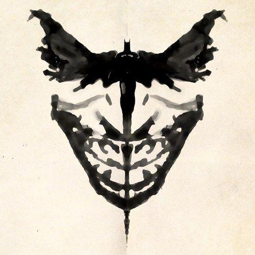 Idée de tatouage: allie Batman, Joker et Rorschach