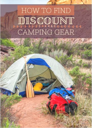From sleeping gear and cookware to hiking boots and jackets, shelling out cash for camping gear can get expensive, especially if you camp with a family. Shop in the right places, however, and you'll find that discount camping gear is readily available. Instead of paying for brand new, full-priced items, check out these inexpensive options. How to Find Discount Camping Gear http://www.active.com/outdoors/articles/How-to-Find-Discount-Camping-Gear.htm?cmp=23-243-273