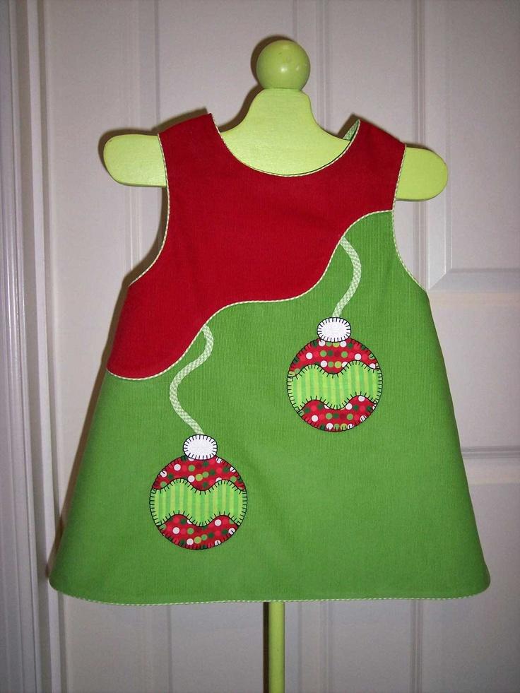 Olivia Anne Designs: Ollie the Ornament Dress