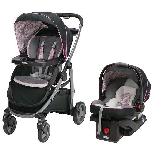 Graco modes click connect travel system stroller zola for Porte bebe toys r us