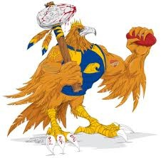 West Coast Eagles wicked mascot