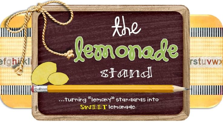 The Lemonade Stand is a 1st and 2nd grade blog with lots of ELA, math, science, s.s., and classroom management ideas!!!