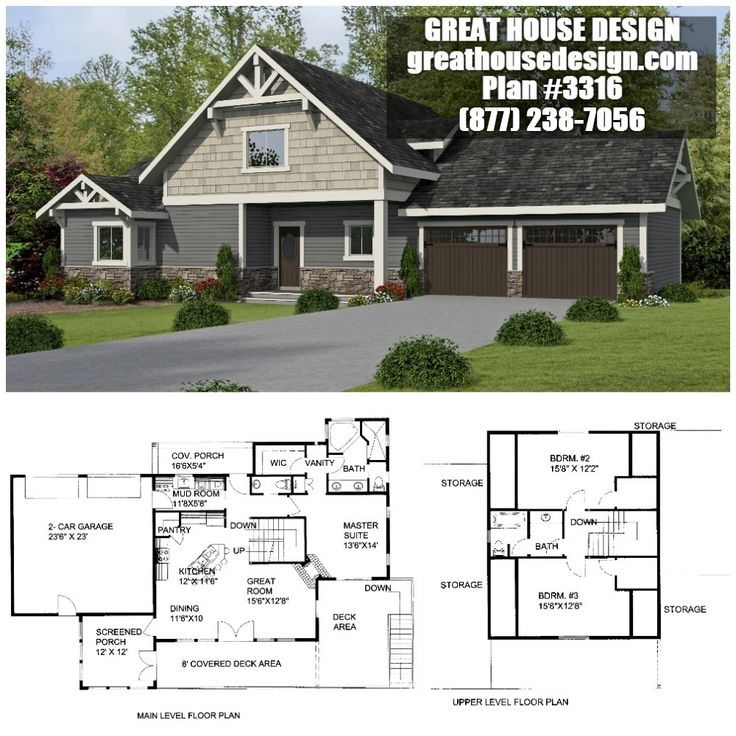106 best Standard 2x6 Framed Homes By Great House Design images on ...