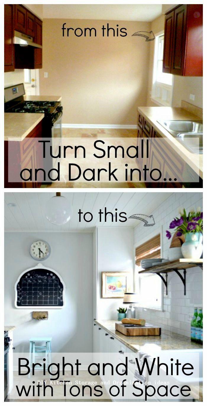 Insanely Sensible DIY Kitchen Storage Ideas DIY Kitchen