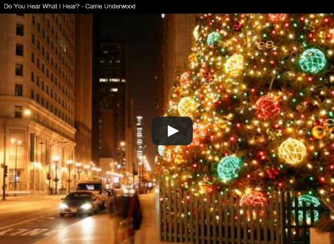 """Your Favorite Christmas Songs - Your favorite Christmas Songs: Do You Hear What I Hear? – Carrie Underwood  Elvis Presley – Holly Leaves and Christmas Trees  O Holy Night by Home Free  The Little Drummer Boy """"O'Holy Night"""" by Patti Smith"""